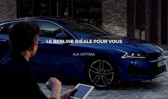Découvrir la nouvelle version de la Kia Optima pour l'année 2021