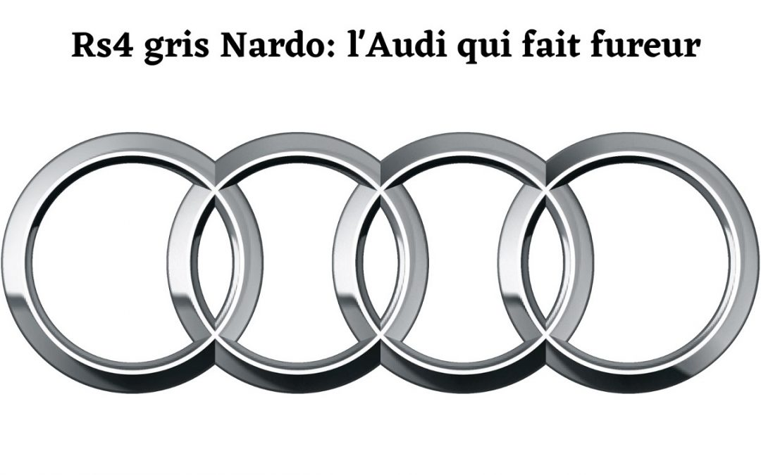 Audi RS4 gris nardo: Trop parfaite?